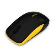 Мышь беспроводная Perfeo Assorty, чёрно-жёлтая, USB (PF-763-WOP-B/Y)