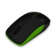 Мышь беспроводная Perfeo Assorty, чёрно-зелёная, USB (PF-763-WOP-B/G)