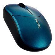 Мышь беспроводная Perfeo Bolid, синяя, USB (PF-533-WOP-BL)