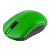Мышь беспроводная Perfeo Sonata, чёрно-зелёная, USB (PF-153-WOP-B/G) (PF_A4125)