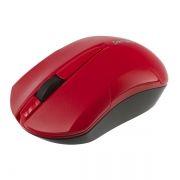 Мышь беспроводная Perfeo Sonata, чёрно-красная, USB (PF-153-WOP-B/R) (PF_A4126)
