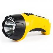 Фонарь SmartBuy, аккумуляторный, зарядка 220В, желтый, 3W (SBF-90-Y)