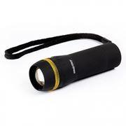 Фонарь SmartBuy, пластиковый, черный, 3XAAA, 3W (SBF-306-3AAA)