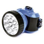 Фонарь налобный SmartBuy, 12 LED, синий (SBF-26-B)