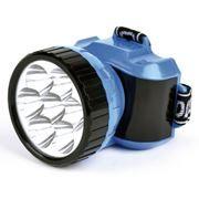 Фонарь налобный SmartBuy, 7 LED, синий (SBF-24-B)