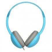 Наушники SmartBuy KIDS, детские: с ограничителем громкости -80дБ, синие (SBE-610)