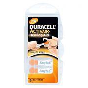 Батарейка DURACELL ActivAir DA13 для слуховых аппаратов, 6 шт, блистер