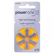 Батарейка VARTA Power One p10 для слуховых аппаратов, 6 шт, блистер