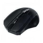 Мышь беспроводная Perfeo Arrow, 800/1200/1600 dpi, чёрная, USB (PF-29-WOP)