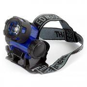 Фонарь налобный SmartBuy, синий, 1W, 3xAAA (SBF-HL018-B)