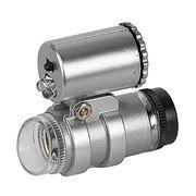 Фонарь с микроскопом ЭРА M45, увеличение 45x, 2 LED