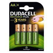 Аккумулятор AA DURACELL HR6-4BL 1300мА/ч Ni-Mh, 4шт, блистер