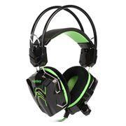Гарнитура SmartBuy RUSH COBRA, игровая, черн/зеленая (SBHG-1200)