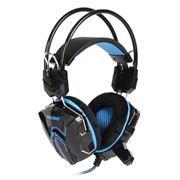 Гарнитура SmartBuy RUSH COBRA, игровая, черн/синяя (SBHG-1000)
