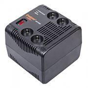 Стабилизатор напряжения Exegate AVR 2500VA, 1200 Вт, 4 розетки, OEM