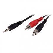 Кабель аудио 3.5 stereo plug -> 2 RCA plug, 1.5 м, Rexant (17-4202)