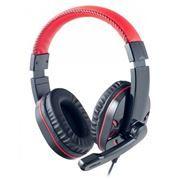 Гарнитура Perfeo SWAT, USB, черно-красная (PF-SWT-BLKRED)