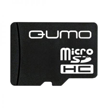 Карта памяти Micro SDHC 8Gb Qumo Class 4 без адаптеров (QM8GMICSDHC4NA)