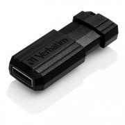 16Gb Verbatim PinStripe Black USB 2.0 (49063)