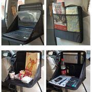 Автомобильная папка-органайзер-столик на спинку сидения BLAST BCO-250, 38,5х29,5x3,5 см, чёрная