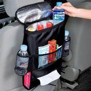 Автомобильная сумка-органайзер на спинку сиденья, 31,5х24x13 см, чёрная, BLAST BCO-200
