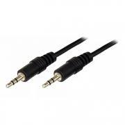 Кабель аудио 3.5 stereo plug -> 3.5 stereo plug, 1.5 м, черный, Rexant (17-4102)