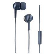 Гарнитура Perfeo Headset для мобильных устройств, серая (PF-HDT-GRY)