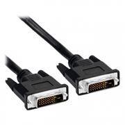 Кабель DVI-D Dual link (24+1) 1.8 м, чёрный