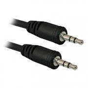 Кабель аудио 3.5 stereo plug -> 3.5 stereo plug, 1.5 м, Defender JACK01-05 (87510)