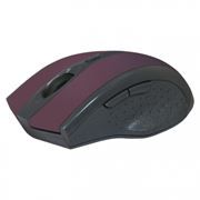 Мышь беспроводная DEFENDER MM-665 Accura, красная (52668)
