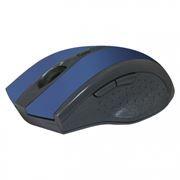 Мышь беспроводная DEFENDER MM-665 Accura, синяя (52667)