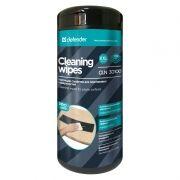 Салфетки влажные DEFENDER PRO для очистки пластиковых поверхностей, в тубе 110шт (30 100)