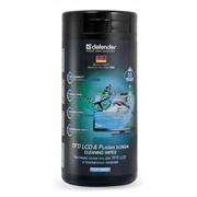 Салфетки сухие и влажные DEFENDER для TFT/LCD/Plasma экранов, 50+50 шт (30600)