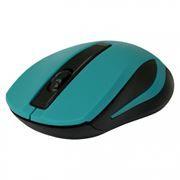 Мышь беспроводная DEFENDER MM-605, зелёная (52607)