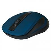 Мышь беспроводная DEFENDER MM-605, синяя (52606)