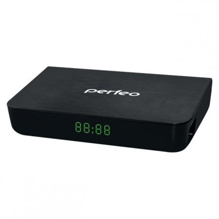 Цифровой телевизионный ресивер DVB-T2 PERFEO PF-148-1 с HD-медиаплеером, внешний блок питания