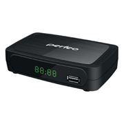 Цифровой телевизионный ресивер DVB-T2 PERFEO PF-120-2 с HD-медиаплеером, внешний блок питания