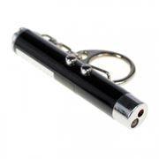Фонарик-брелок ЭРА B30 с лазерной указкой, светодиодный, алюминиевый, 3xLR41
