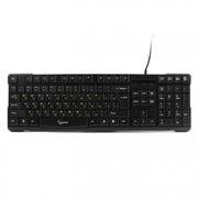 Клавиатура GEMBIRD KB-8352U-BL, черная, USB