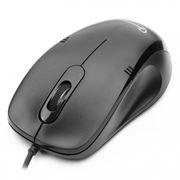 Мышь GEMBIRD MOP-100 черная USB