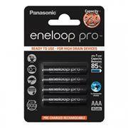 Аккумулятор AAA Panasonic Eneloop Pro 930мА/ч Ni-Mh, 4шт, блистер (BK-4HCDE/4BE)