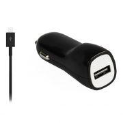 Зарядное автомобильное устройство SmartBuy NITRO, 1A, кабель microUSB, черное (SBP-1501MC)
