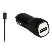 Зарядное автомобильное устройство SmartBuy NITRO, 1A, кабель miniUSB, черное (SBP-1501MN)