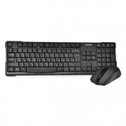 Комплект SmartBuy ONE SBC-114348AG-K Black, беспроводные клавиатура и мышь