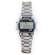 Наручные электронные часы Montana 501, сталь, 7 мелодий, без подсветки