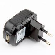 Зарядное устройство Cablexpert MP3A-PC-08 100/220V->5V, 1A USB, черное
