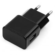 Зарядное устройство Cablexpert MP3A-PC-10 100/220V->5V, 1A USB, черное