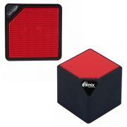 Колонка 1.0 RITMIX SP-140B, MP3, FM, Bluetooth, черный/красный
