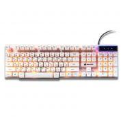 Клавиатура игровая DIALOG Gan-Kata KGK-15U White USB, с подсветкой