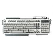 Клавиатура игровая DIALOG Gan-Kata KGK-25U Silver USB, с подсветкой, 3 цвета